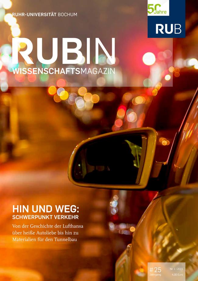 Cover der RUBIN-Ausgabe 1/2015
