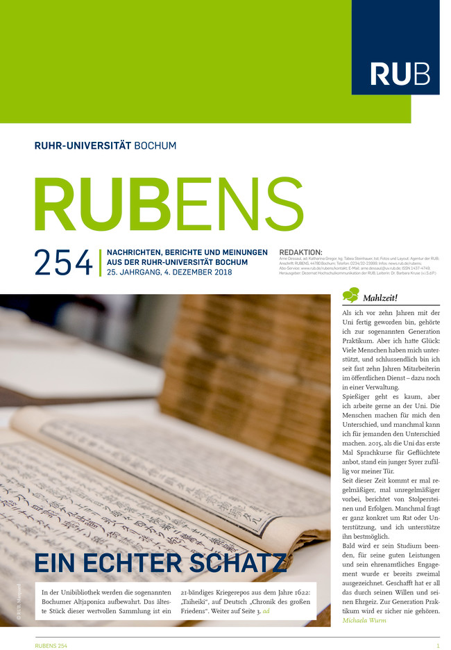 Cover der Rubens 254