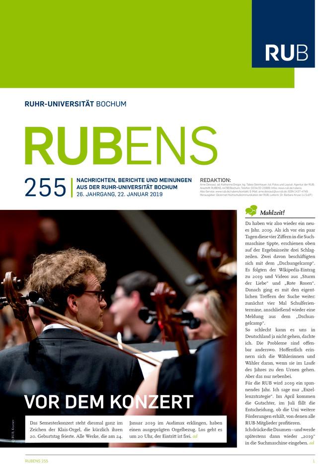 Cover der Rubens 255