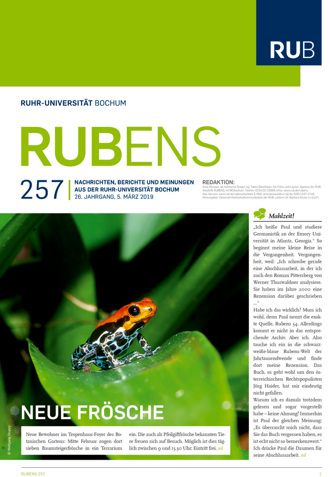 Cover der Rubens 257