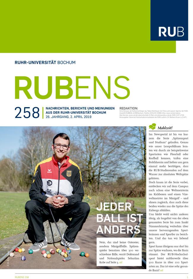 Cover der Rubens 258