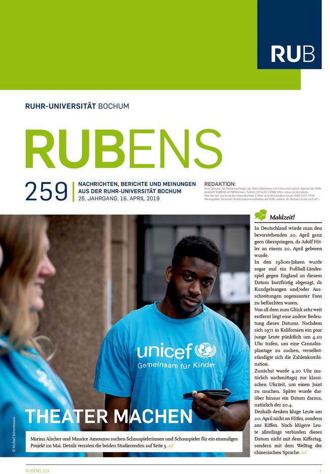 Cover der Rubens 259