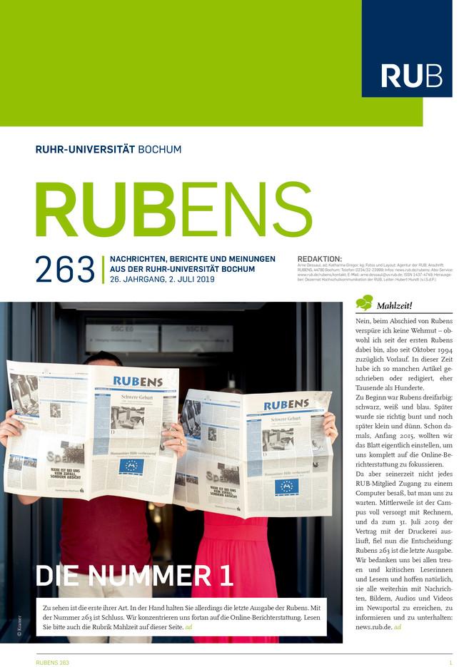 Cover der Rubens 263