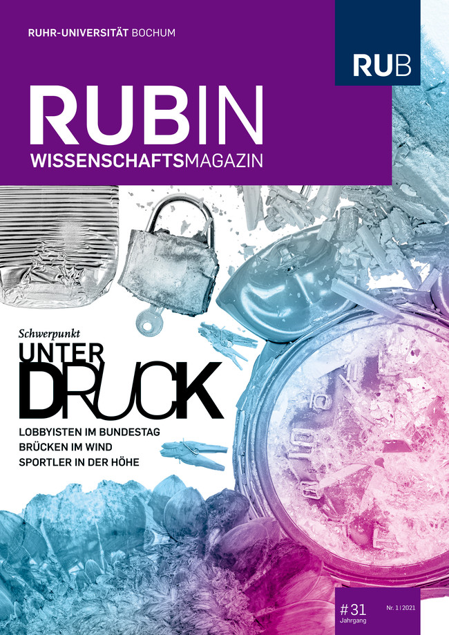 "Rubin-Cover ""Unter Druck"""