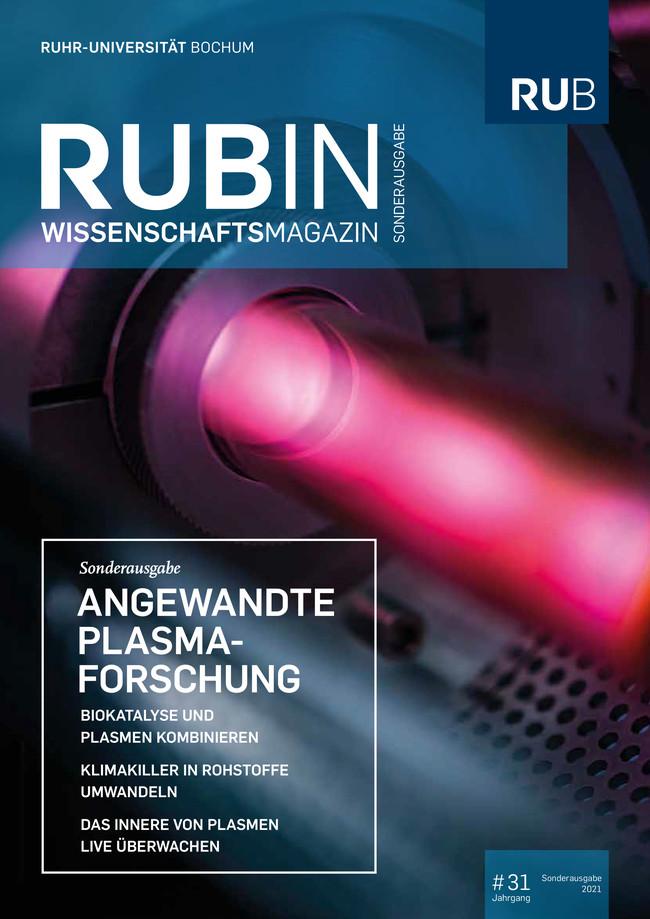 <div> Rubin-Cover Sonderausgabe Angewandte Plasmaforschung 2021</div>