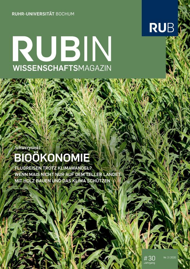 Cover Rubin Wissenschaftsmagazin Ausgabe 2/2020