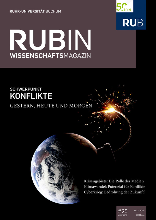Cover der Rubin 2/2015.