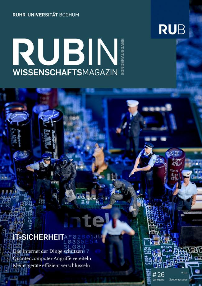 Cover der Rubin-Sonderausgabe IT-Sicherheit 2016