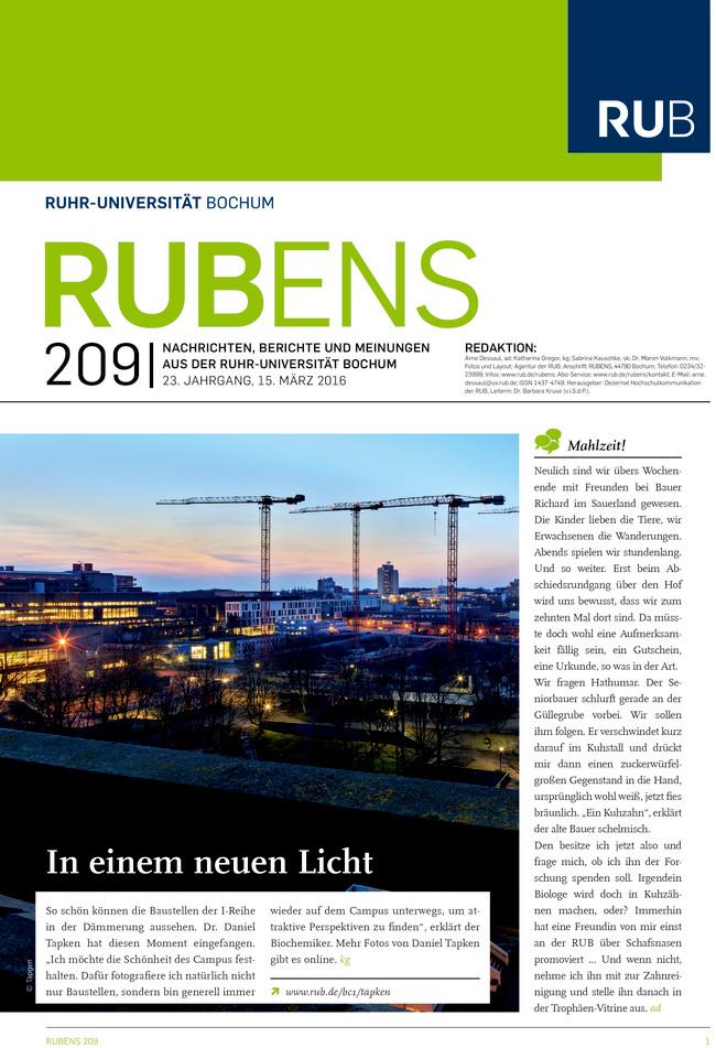 Cover der Rubens 209.