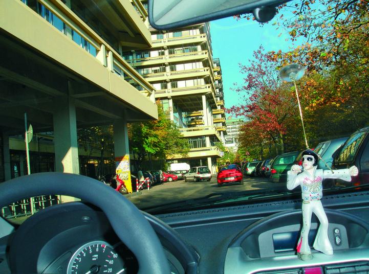 Wird bald leichter: die Parkplatzsuche an der RUB