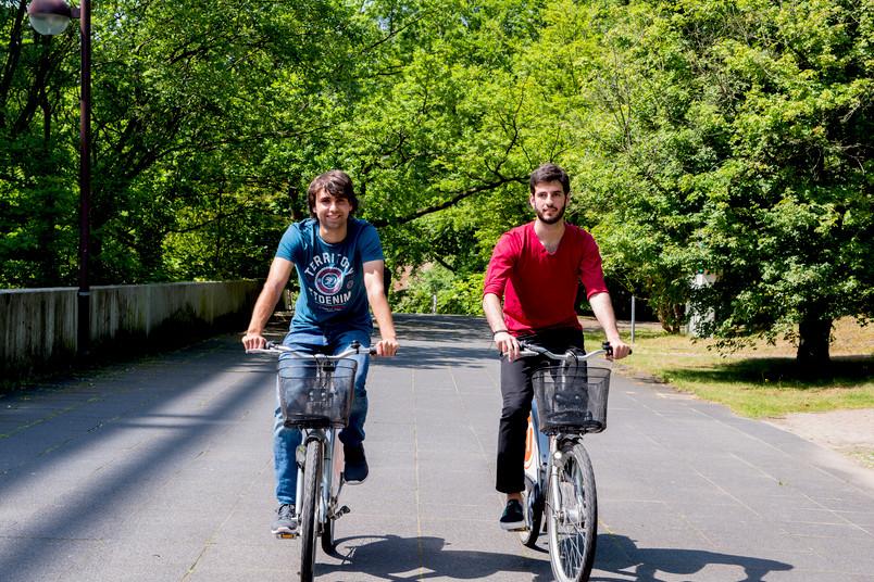 Laut Mobilitätsbefragung möchten 17 Prozent der RUB-Mitglieder gern mit dem Rad zur Uni kommen, bislang tun es nur zwei Prozent.