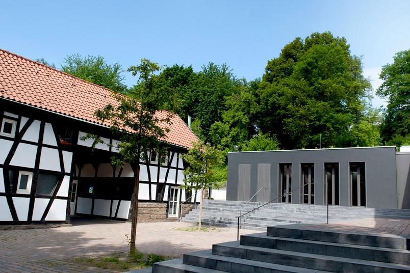 Der Beckmanns Hof, nachdem er modernisiert und erweitert wurde