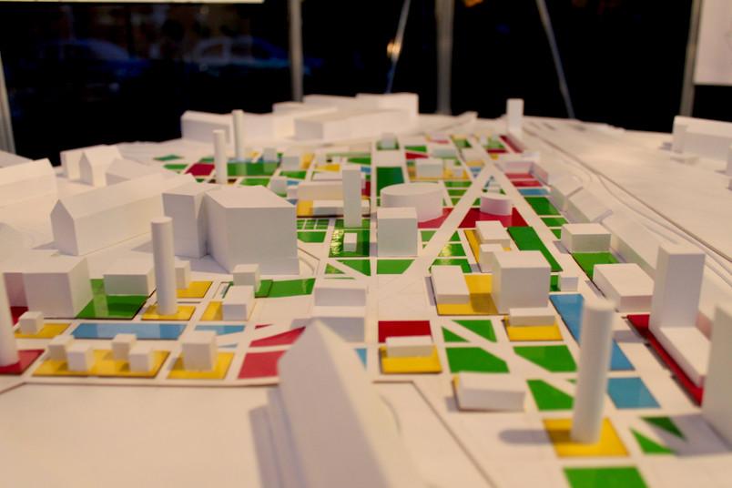 Entwurf des geplanten Innenstadt-Campus des Collaboratoriums für kulturelle Praxis
