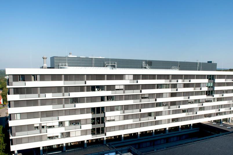 Das kernsanierte Gebäude IC