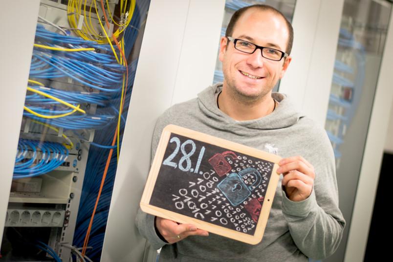 Erforscht das Thema IT-Sicherheit: Prof. Dr. Thorsten Holz