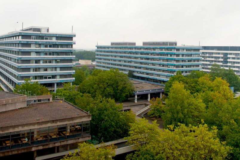 Die Gebäude IA und IB