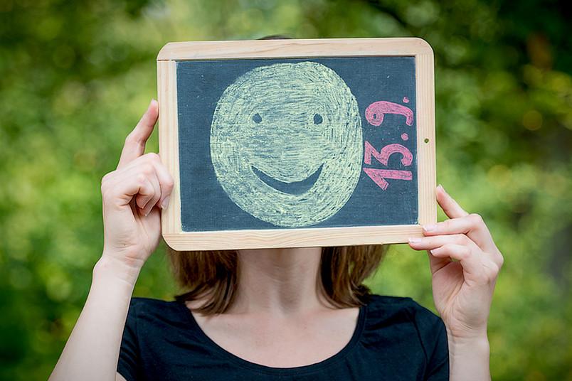 Bitte lächeln! Studien zeigen: Optimisten leben gesünder als Pessimisten.
