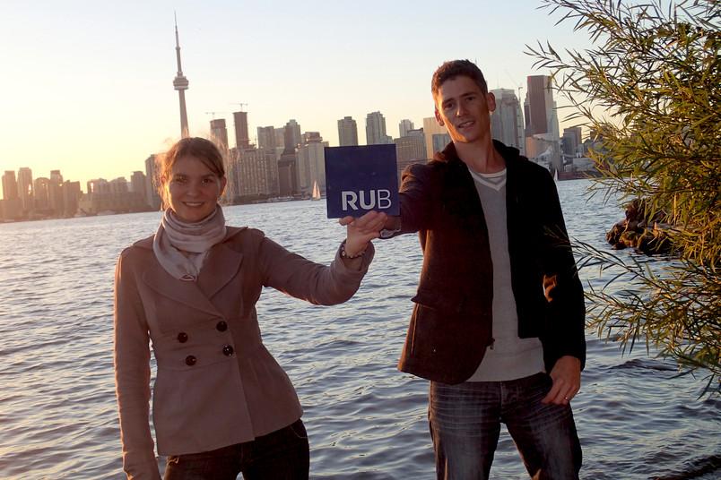 2013, als dieses Foto entstanden ist, lebten Sarah Kurtenbach und ihr Mann Stefan noch in Toronto.