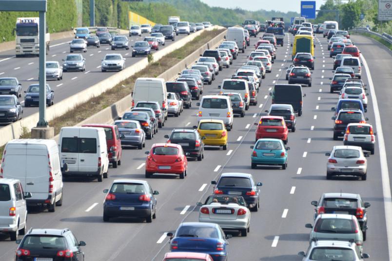 Fast eine Million Kilometer Stau gab es 2014 auf deutschen Autobahnen.