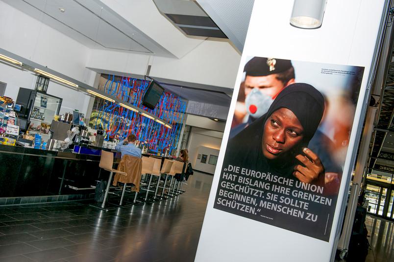 Die Infoausstellung ist vom 17. Juni bis 31. Juli im Mensafoyer zu sehen.