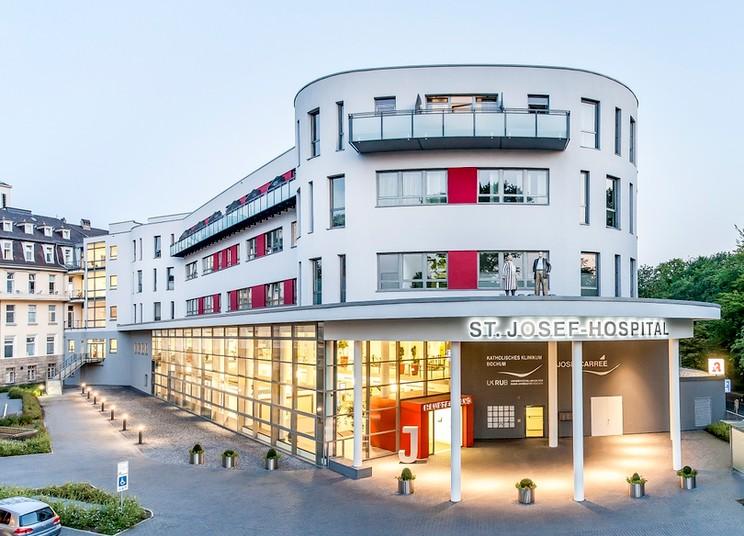 Das St. Josef-Hospital am Bochumer Stadtpark