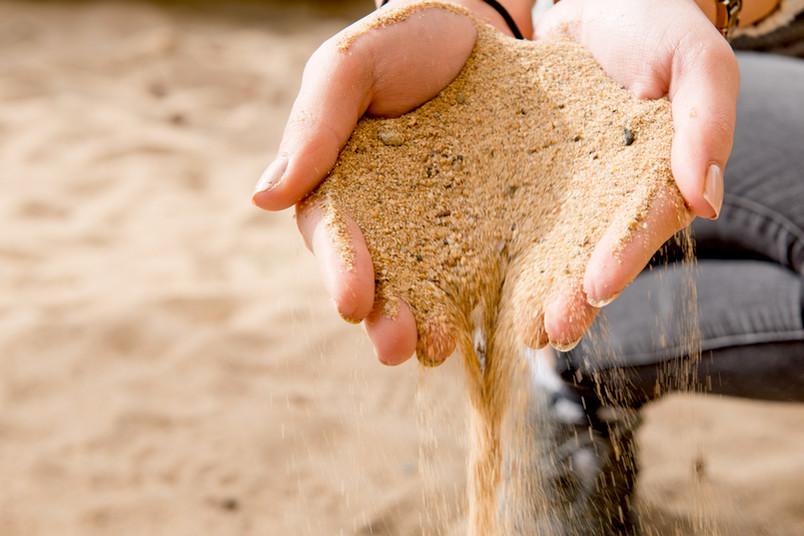 Sand ist nicht gleich Sand. Manche Sorten werden auf der der Erde knapp.