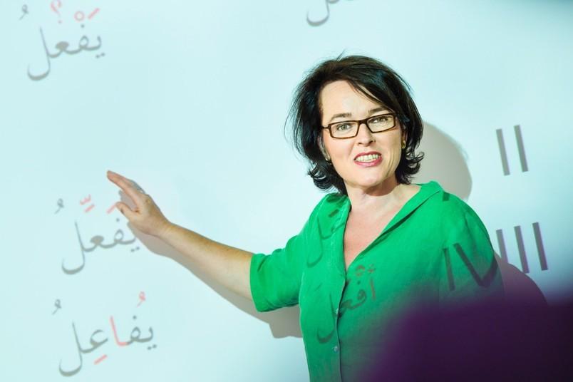 Die arabische Schrift ist nur ein Nebenschauplatz beim Expresskurs.