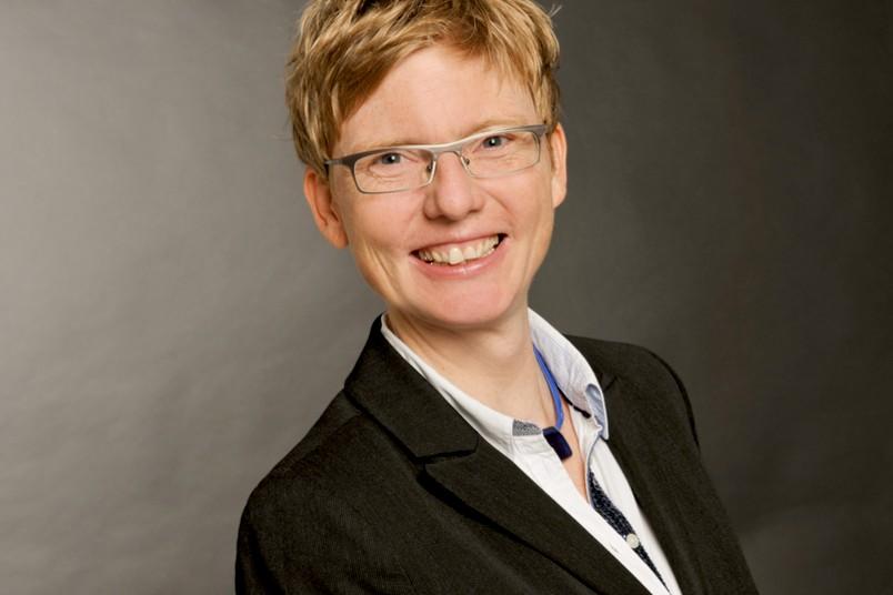 Gunda Werner hält ihre Antrittsvorlesung am 13. Januar 2016.