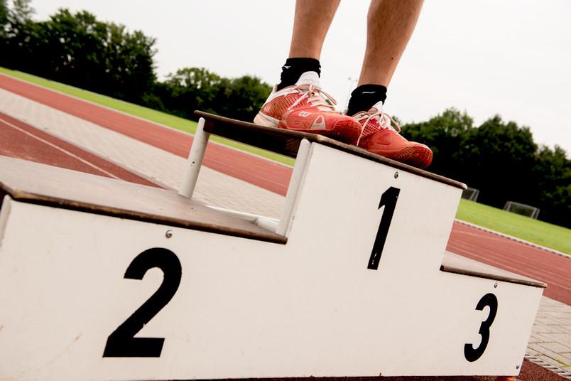 Ganz oben auf dem Siegertreppchen: die Wettkampfgemeinschaft Bochum