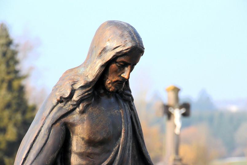Praktisch unerreichbar in Sachen Fasten: Jesus