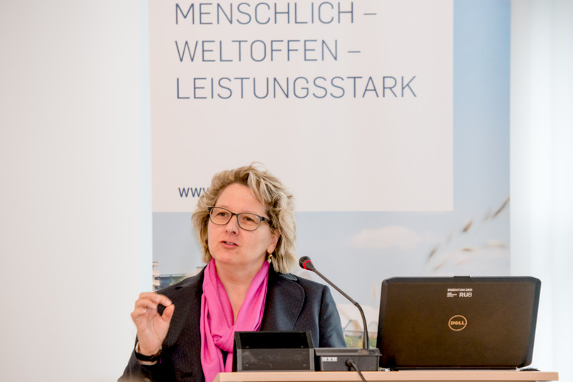 Ministerin Svenja Schulze beim Women Professors Forum