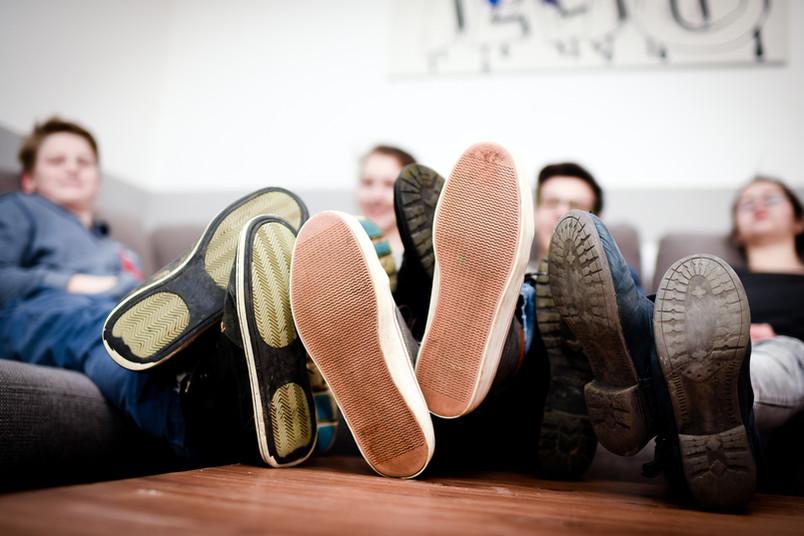 Bochumer Studierende haben gut Lachen: Sie sparen bei der Miete.