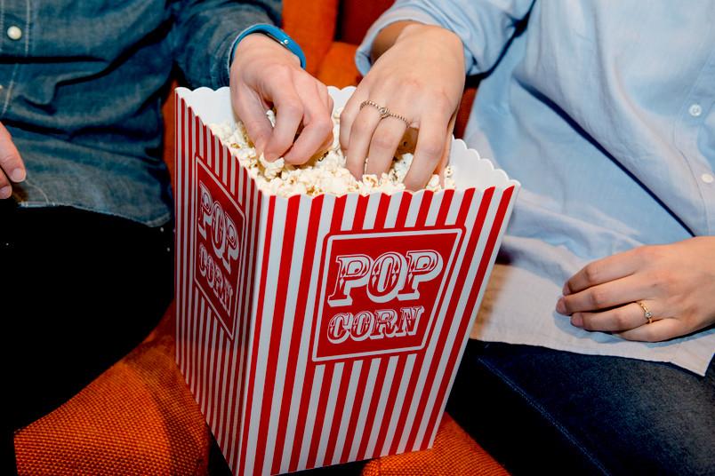 Ohne Popcorn ist Kino nicht vorstellbar.