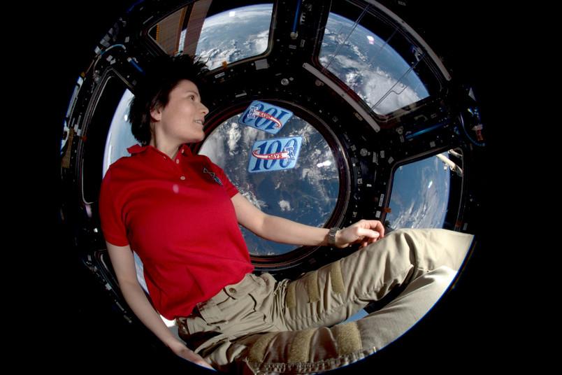 """Bodenkontrolle an Astronautin Cristoforetti: """"Können Sie mich hören?"""""""