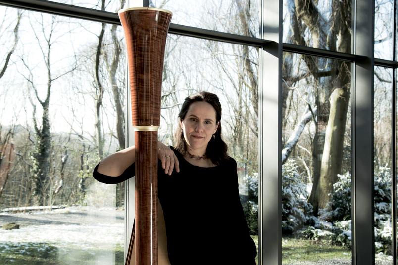 Virtuos an der Harfe: Kathrin Montero Küpper