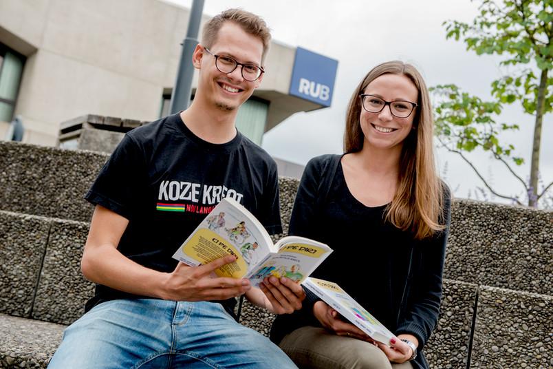 Sarah Lehwald und Magnus Fischer haben ihr Buch sogar selbst layoutet.