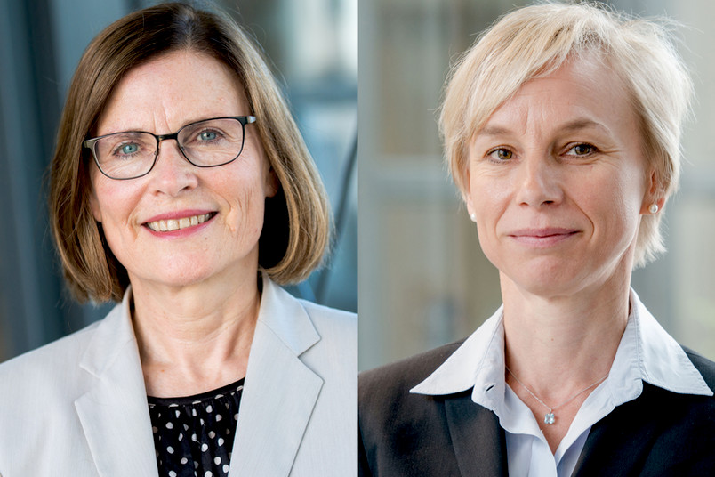 Neu im Hochschulrat der RUB: Ricarda Brandts (links) und Hildegard Westphal