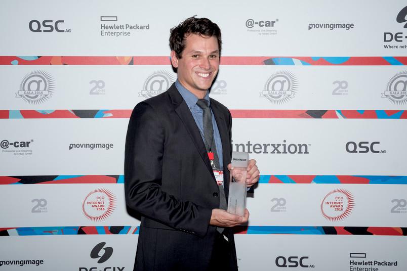 Freut sich über die Auszeichnung der Internetwirtschaft: Christian Zenger