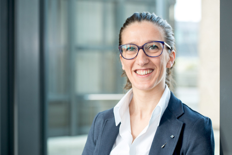 Enrica Bordignon verstärkt seit April 2016 das Forscherteam des Exzellenzclusters Resolv der RUB.