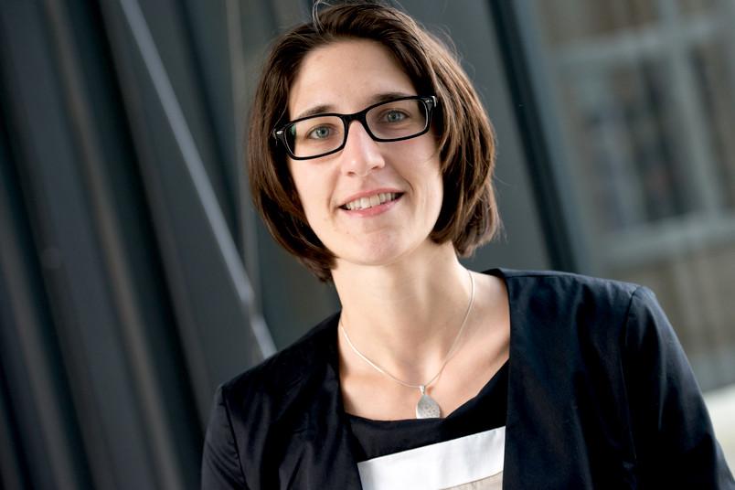Kam aus Würzburg an die RUB: die Chemikerin Viktoria Däschlein-Geßner