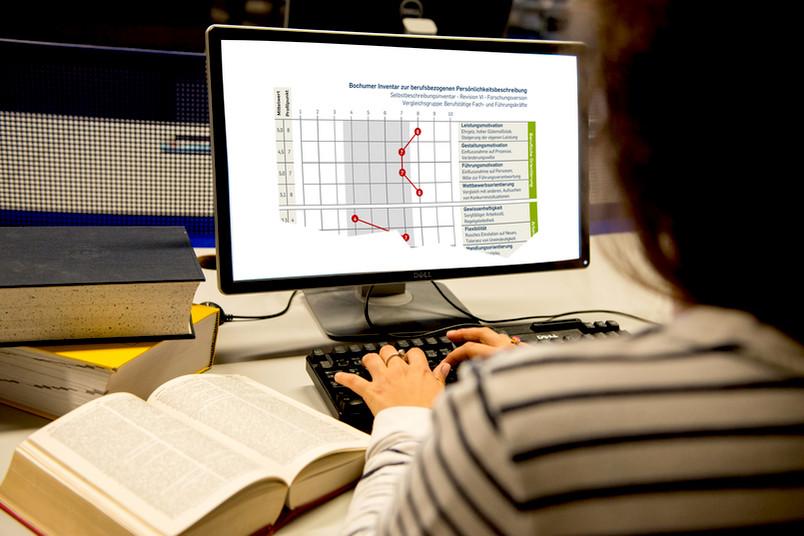 Einfach online mitmachen – binnen einer Woche kommt eine detaillierte Auswertung per Mail.