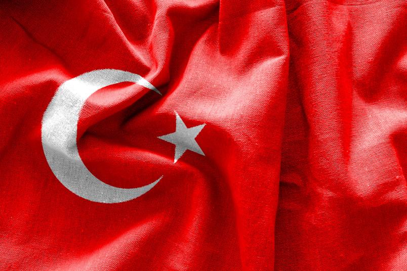 Türkische Flagge - die Ruhr-Universität Bochum bezieht Stellung zur Situation im Land
