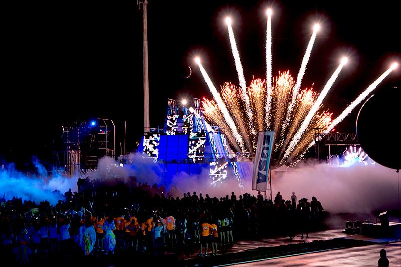 Eröffnungsfeier der Eusa-Games