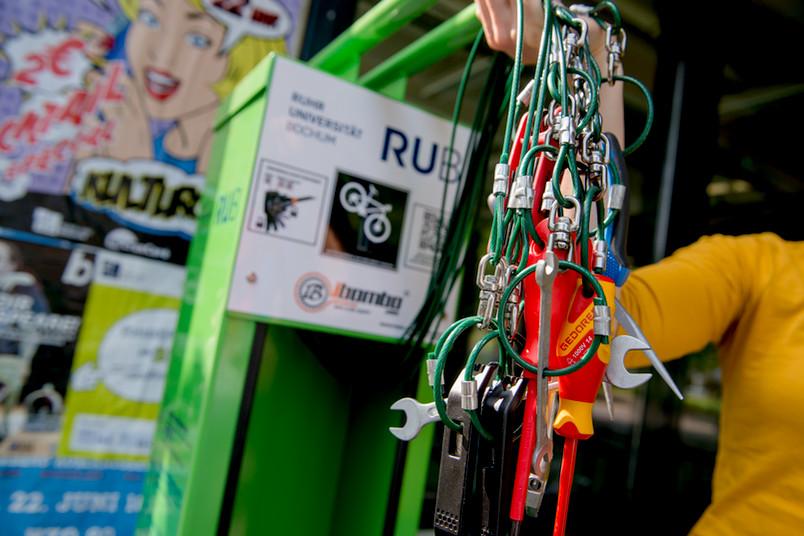 Werkzeuge für die Fahrradreparatur
