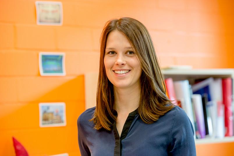Marisa Nordt erforscht in ihrer Doktorarbeit, wie Kinder Gesichter wahrnehmen.