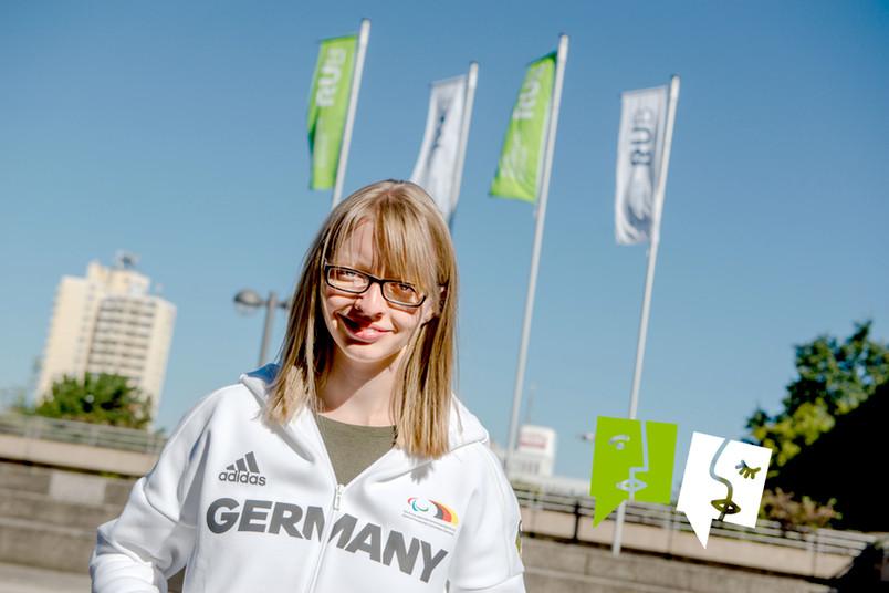 Portrait der Paralympics-Teilnehmerin Uta Streckert