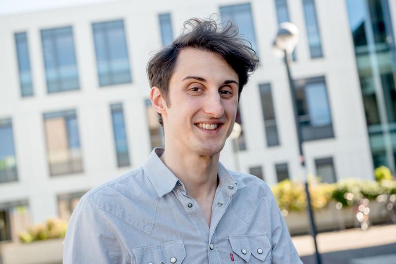 André Deutscher hilft ab September Maschinenbaustudierenden beim Verfassen wissenschaftlicher Texte.