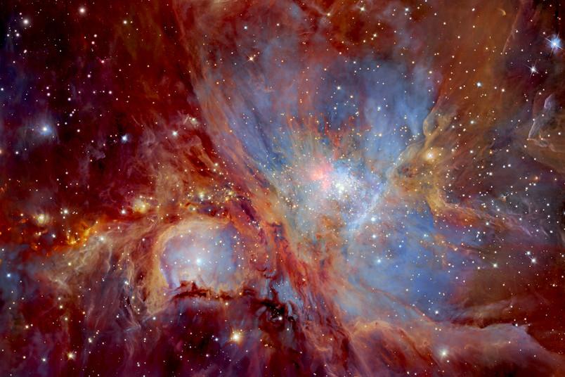 Blick ins Weltall, Orionnebel