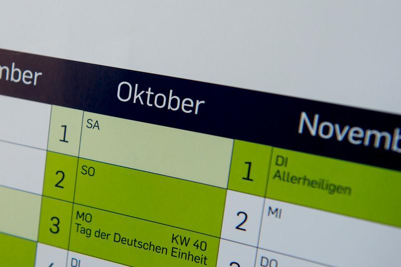 Termine und Veranstaltungen an der Ruhr-Universität Bochum im Oktober