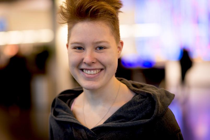 Porträt der Studentin Jule Rönitz.